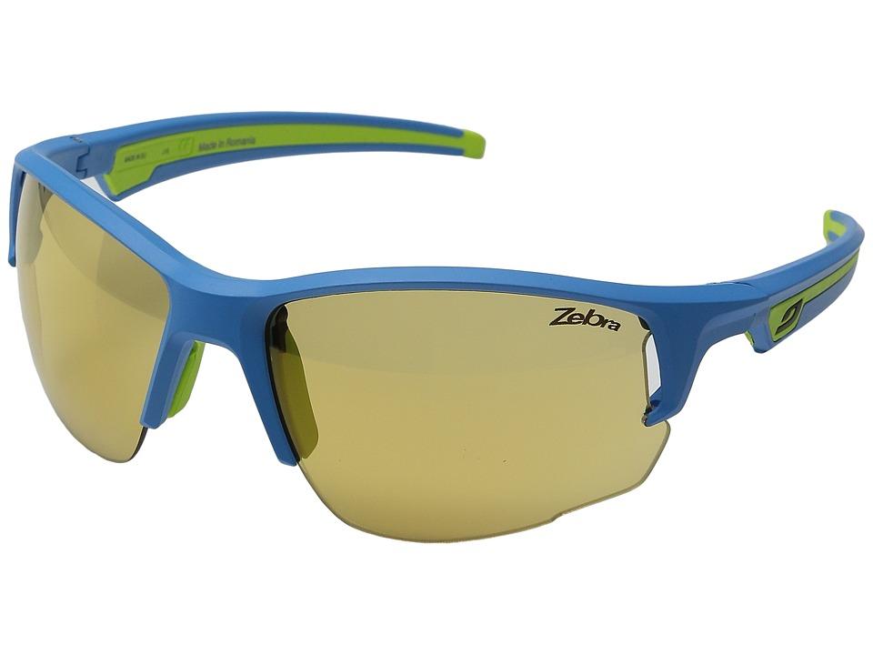 Julbo Eyewear - Venturi Performance Sunglasses (Blue/Green) Sport Sunglasses