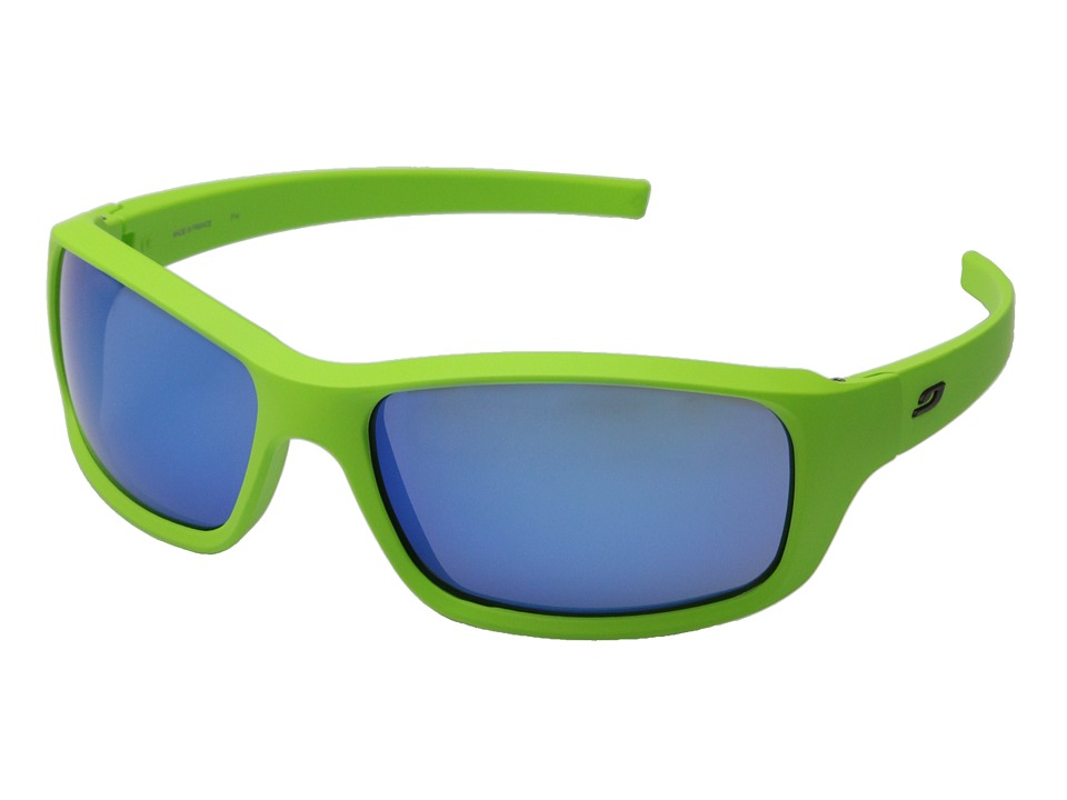 Julbo Eyewear - Slick Lifestyle Sunglasses (Matte Green/Blue) Sport Sunglasses
