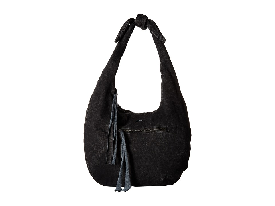 RVCA - Time Travelin Bag (Black) Hobo Handbags