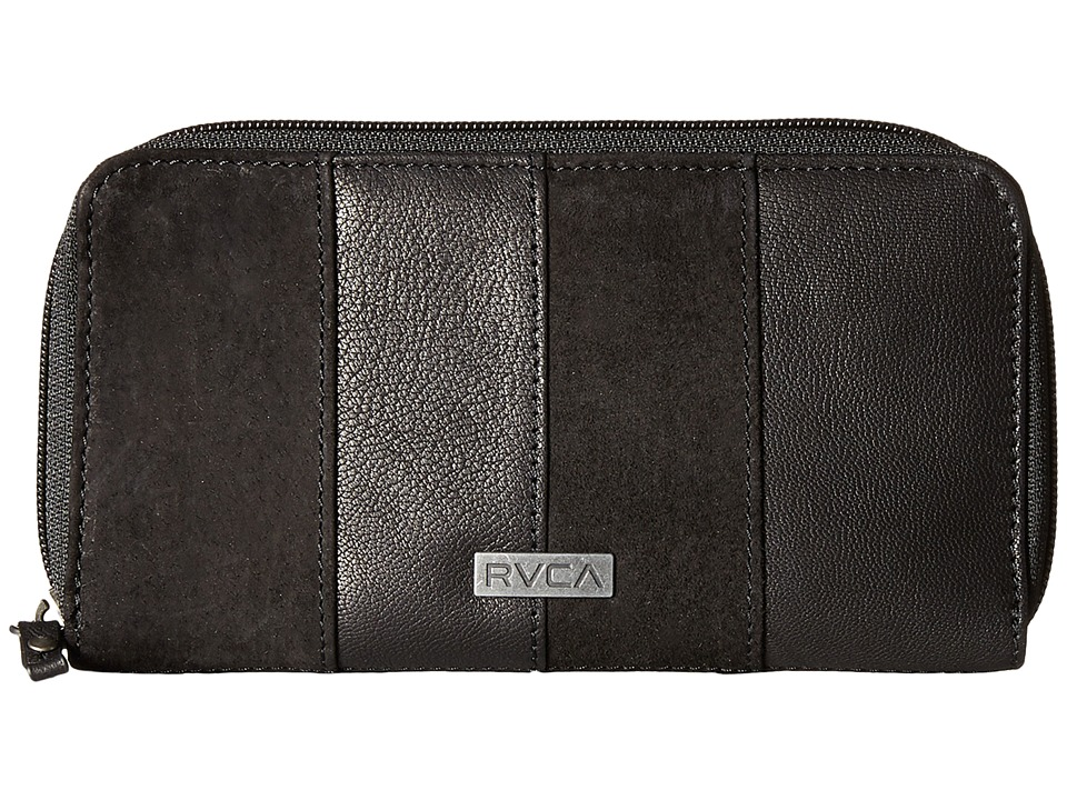 RVCA - Bank Breaker Wallet (Black) Wallet Handbags