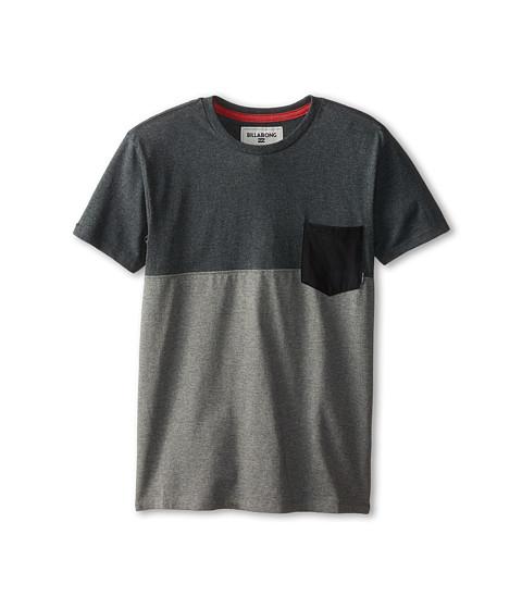Billabong Kids - Shifty Short Sleeve Crew (Big Kids) (Asphalt Heather) Boy's T Shirt