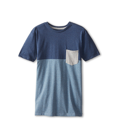 Billabong Kids - Shifty Short Sleeve Crew (Big Kids) (Dark Blue Heather) Boy