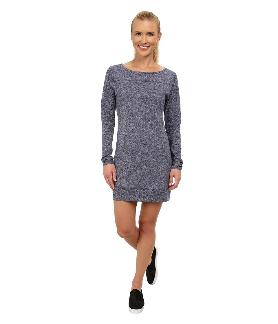 Carve Designs - Talora Dress (Midnight Heather) Women's Dress