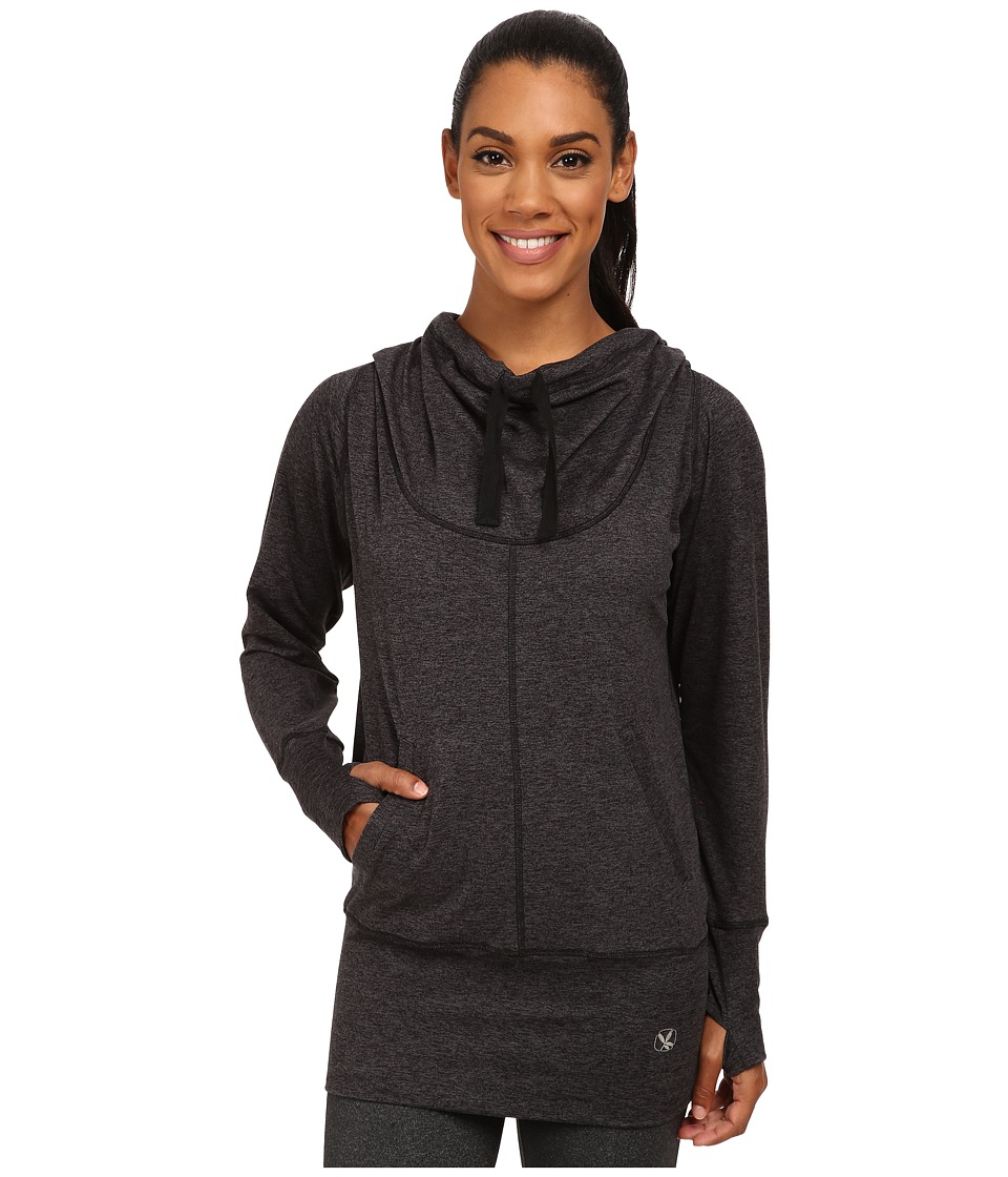 Carve Designs - Talora Hoodie (Charcoal Heather) Women's Sweatshirt