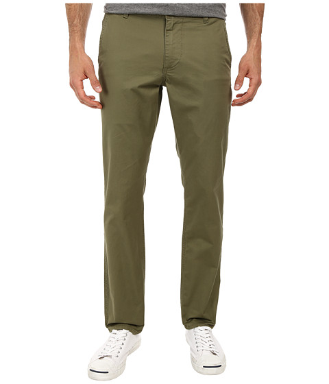 Dockers Men's - Alpha On the Go Khaki II Pants (Olive Moss) Men's Casual Pants