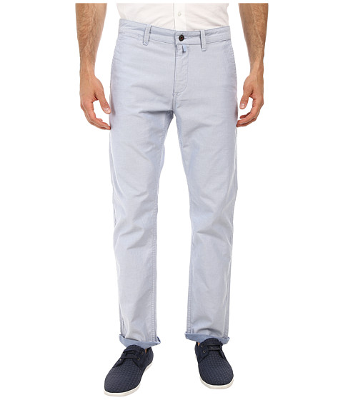 Dockers Men's - AC Alpha Original Slim Seasonal Pants (Plunkett A 2-Color YD Twill - Blue Dane) Men's Casual Pants