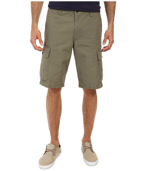 Dockers Men's - Core Cargo Short (Ripstop - True Olive) Men's Shorts