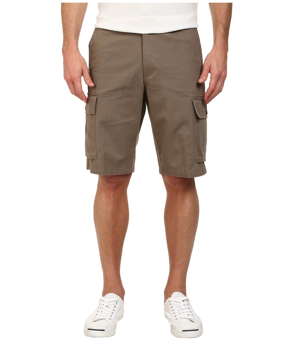 Dockers Men's - Core Cargo Short (Twill - Concrete) Men's Shorts