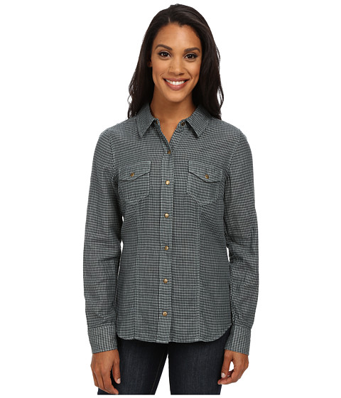 Carve Designs - Inverness Shirt (Evergreen Check) Women's Long Sleeve Button Up