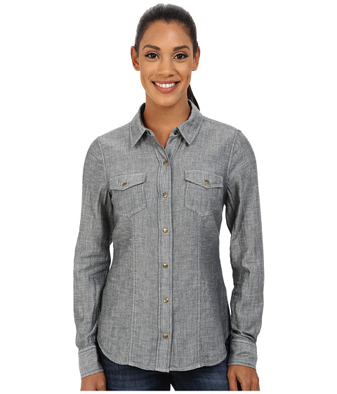 Carve Designs - Inverness Shirt (Deep Sea Chambray) Women's Long Sleeve Button Up