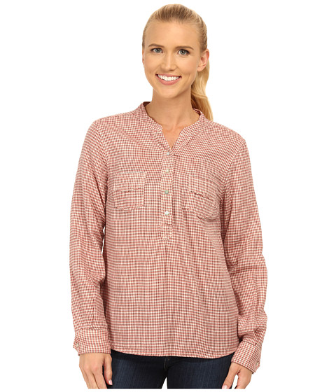 Carve Designs - Dylan Chambray Shirt (Sunset Check) Women