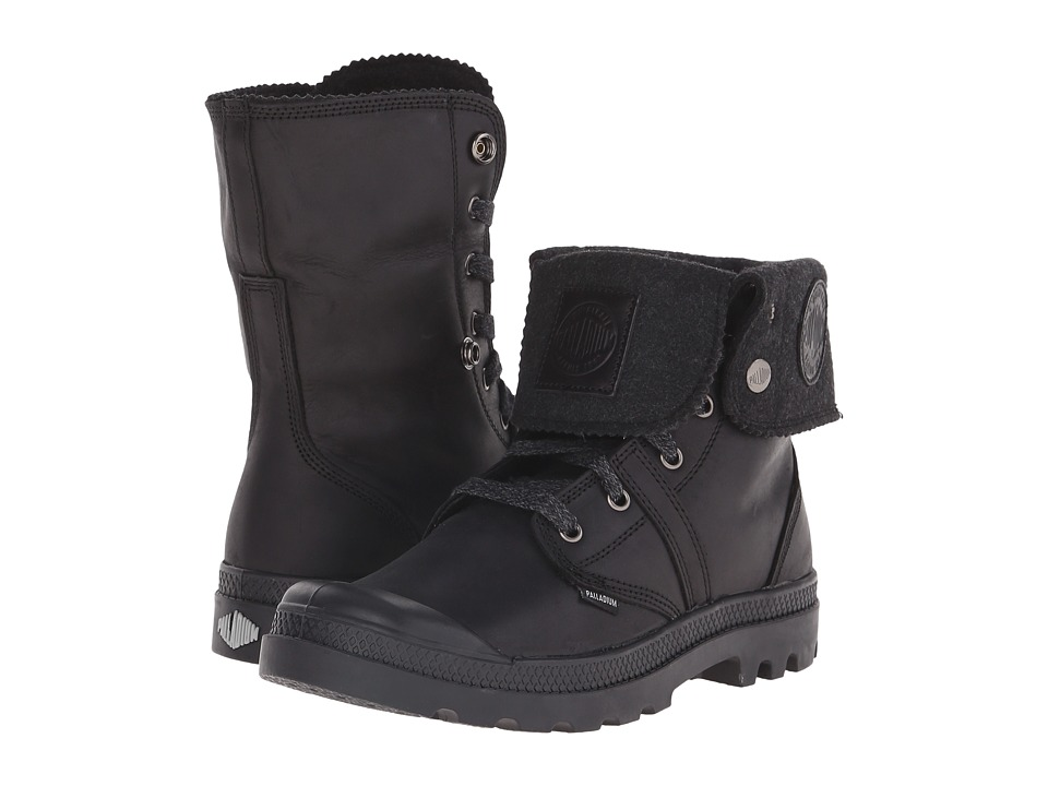Palladium - Pallabrouse BGY Plus 2 (Black/Metal) Men's Boots