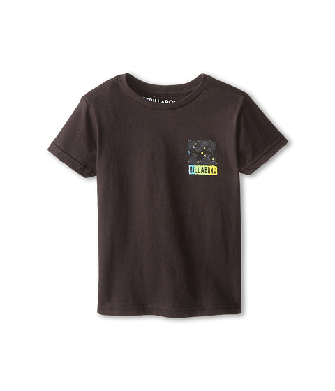 Billabong Kids - Acid Drop T-Shirt (Toddler/Little Kids) (Black) Boy