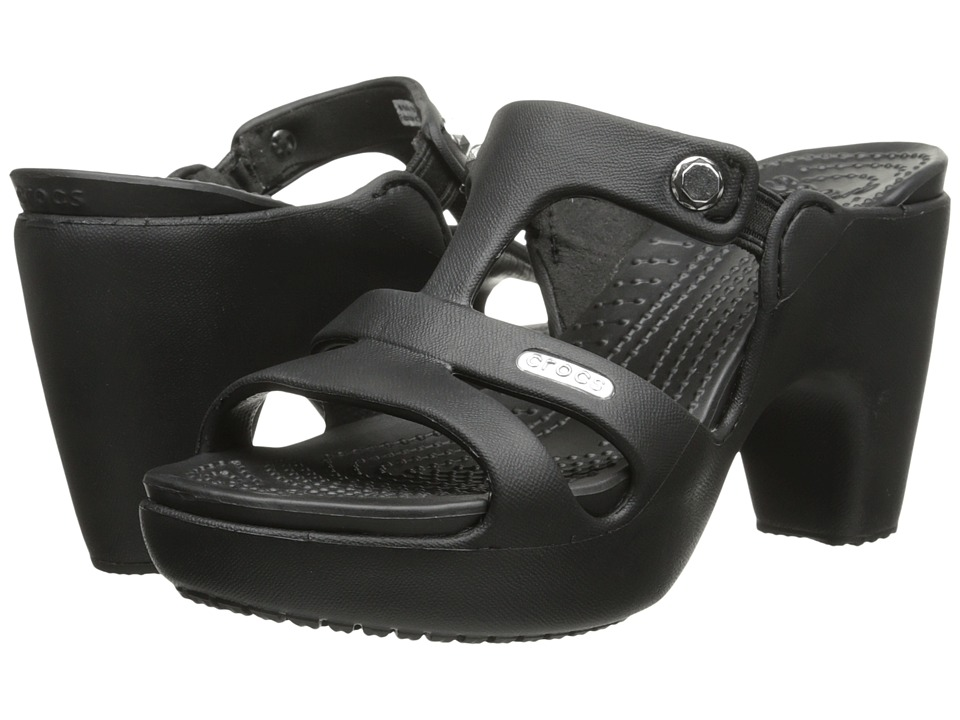 Crocs Cyprus V Womens Sandals Black
