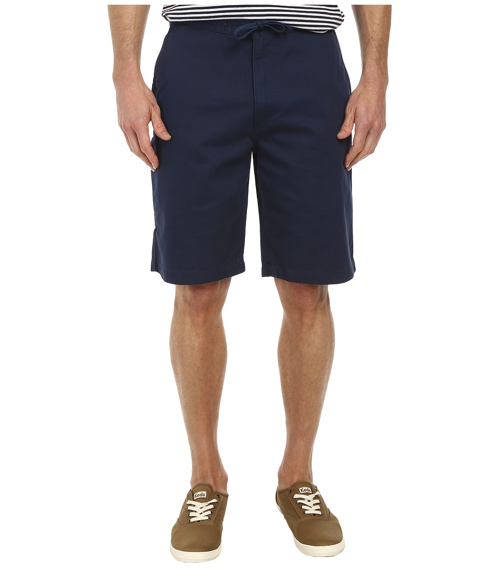 Dockers Men's - Pacific On the Go Classic Flat Front Shorts (Faded Navy) Men's Shorts