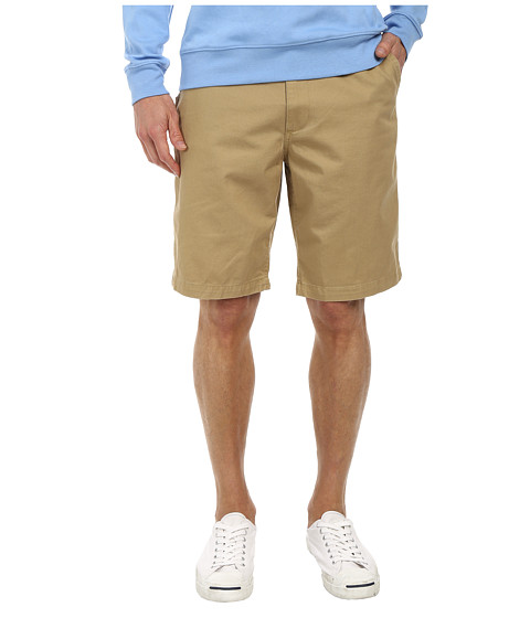Dockers Men's - Pacific On the Go Classic Flat Front Shorts (Desert Sand) Men's Shorts