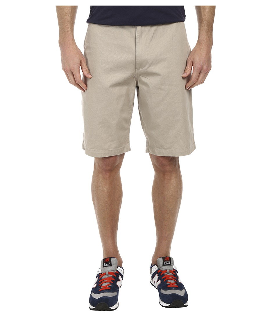 Dockers Men's - Pacific On the Go Classic Flat Front Shorts (Safari Beige) Men's Shorts