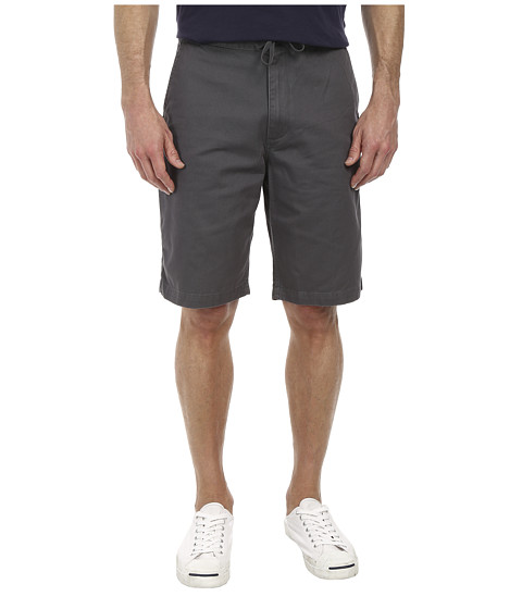 Dockers Men's - Pacific On the Go Classic Flat Front Shorts (Hurricane) Men's Shorts