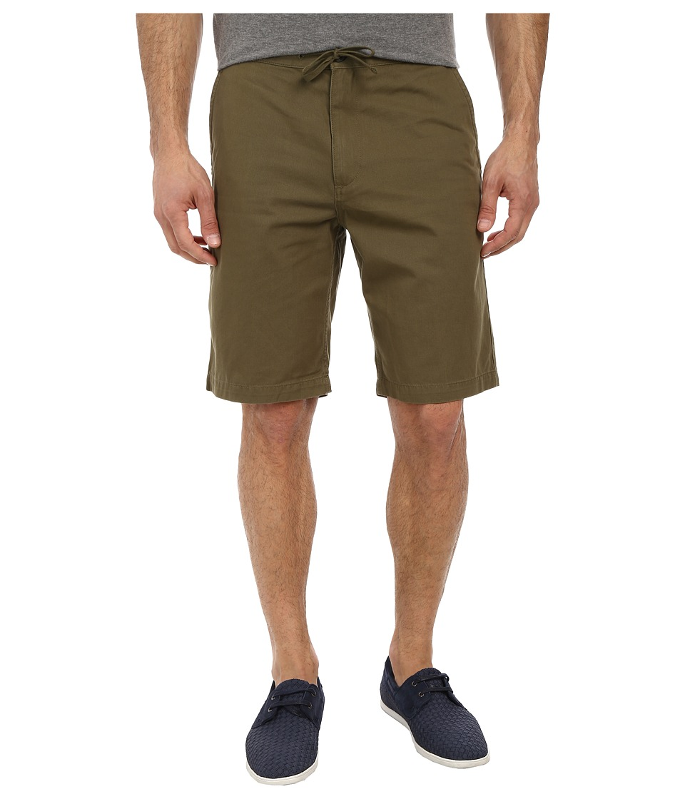 Dockers Men's - Pacific On the Go Classic Flat Front Shorts (Olive Moss) Men's Shorts