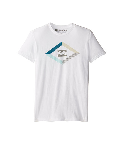 Billabong Kids - Boundary T-Shirt (Big Kids) (White) Boy