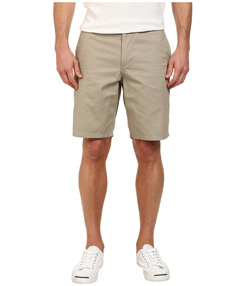 Dockers Men's - Core Flat Front Straight Shorts (Vintage Khaki) Men's Shorts