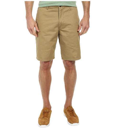 Dockers Men's - Core Flat Front Straight Shorts (New British Khaki) Men's Shorts