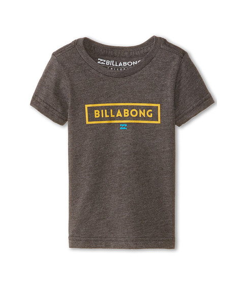 Billabong Kids - Boxed T-Shirt (Infant) (Tar Heather) Boy