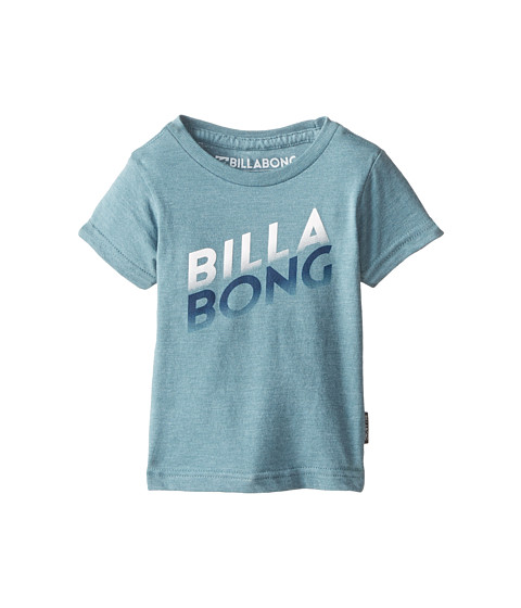 Billabong Kids - Compliment T-Shirt (Infant) (Hydro Heather) Boy