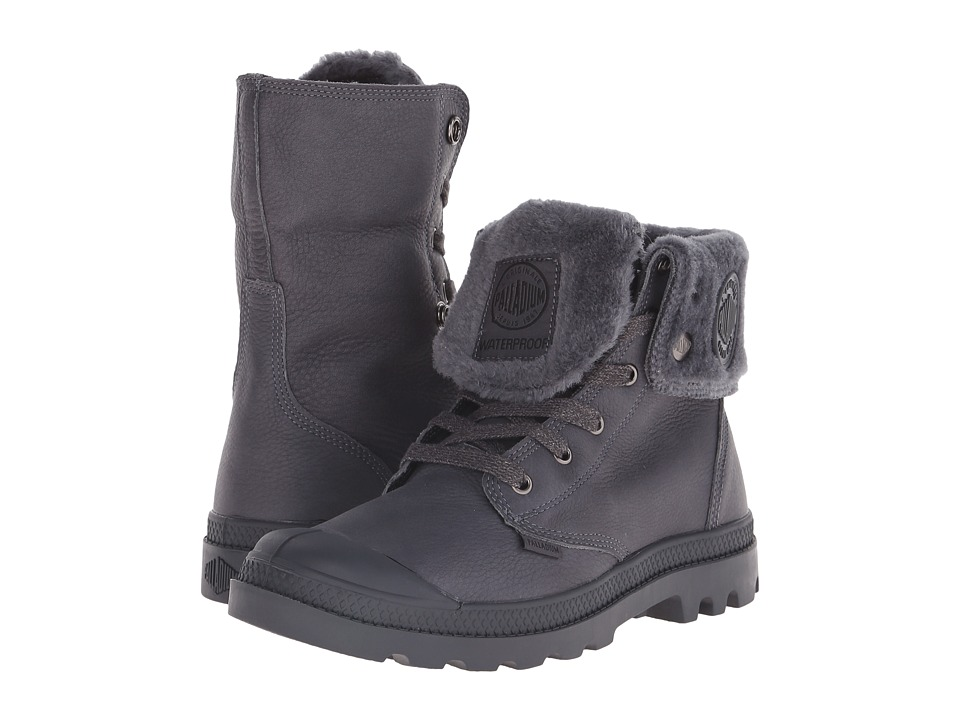 Palladium Baggy Leather Gusset S (Anthracite) Men