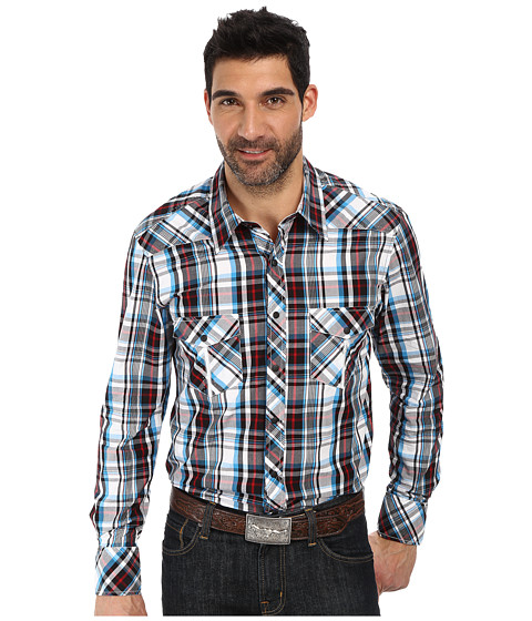 Rock and Roll Cowboy - Long Sleeve Snap B2S2130 (Black) Men's Long Sleeve Button Up