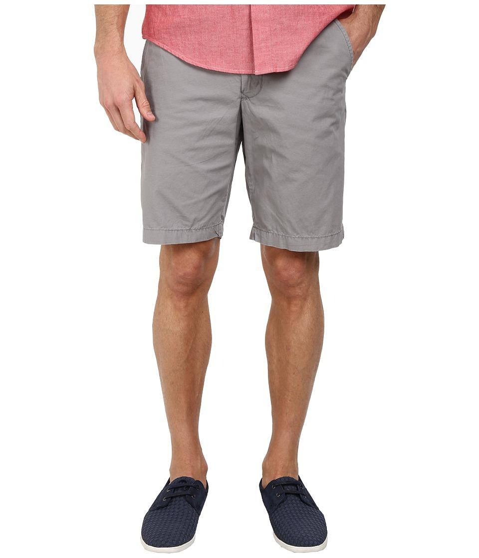 DKNY Jeans - Mini Ripstop Trouser Shorts (Frost Gray) Men's Shorts