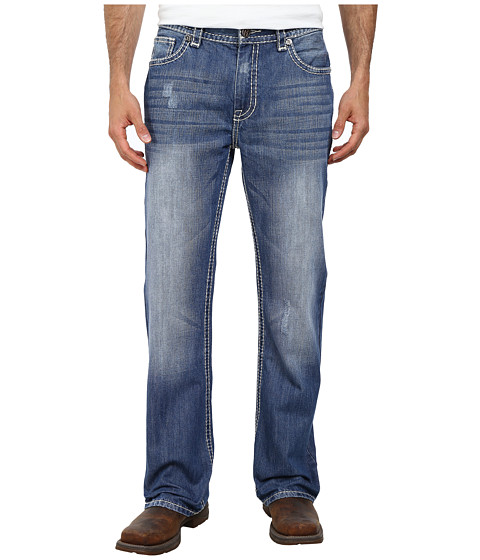 Rock and Roll Cowboy - Double Barrel Relax M0D2176 (Medium Vintage) Men's Jeans