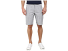DKNY Jeans Yarn Dye Cotton Check Trouser Shorts