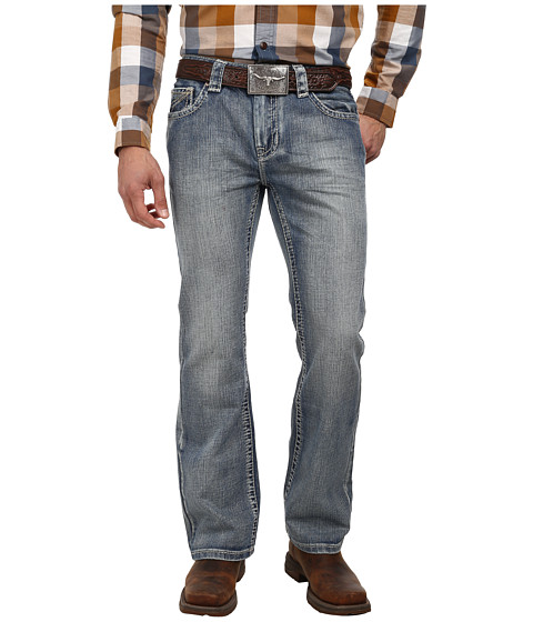 Rock and Roll Cowboy - Pistol Regular Fit M0P2183 (Medium Vintage) Men's Jeans