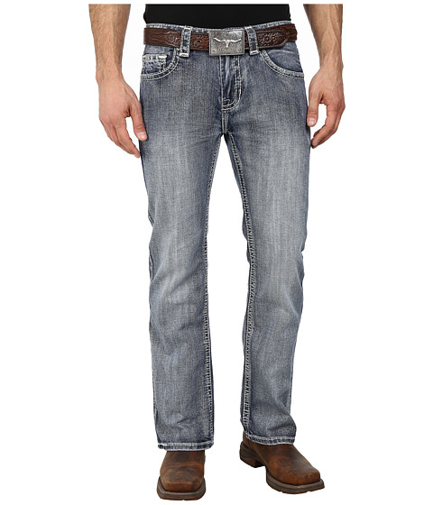 Rock and Roll Cowboy - Pistol Regular Fit M0P2185 (Medium Vintage) Men's Jeans