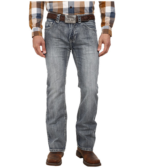 Rock and Roll Cowboy - Pistol Regular Fit M0P2175 (Medium Vintage) Men's Jeans