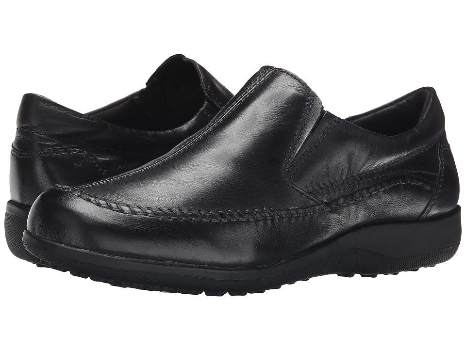 Walking Cradles - Answer (Black Leather) Women's Shoes