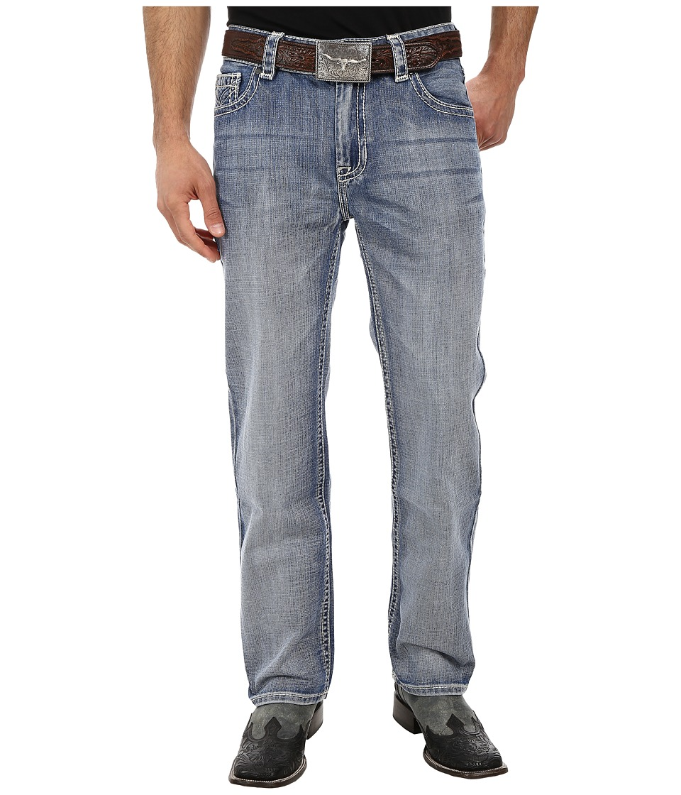 Rock and Roll Cowboy - Double Barrel Relax M0S2180 (Light Wash) Men's Jeans