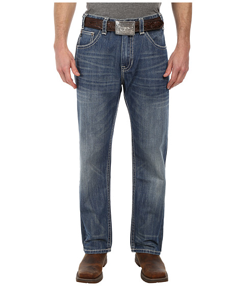 Rock and Roll Cowboy - Straight Leg Jean M0T2193 (Dark Vintage) Men