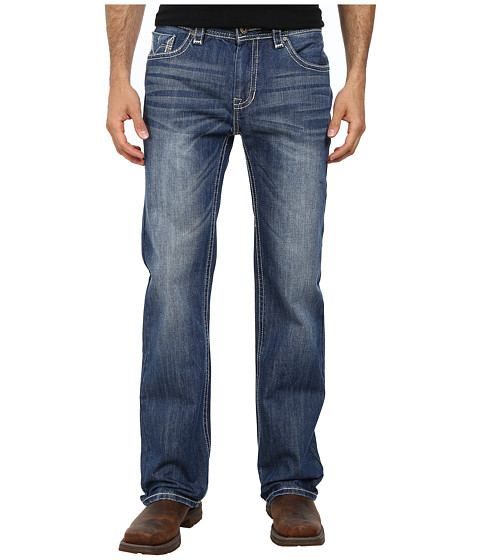Rock and Roll Cowboy - Pistol Regular Fit M1P2188 (Medium Vintage) Men's Jeans