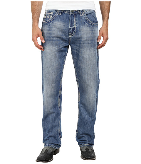 Rock and Roll Cowboy - Straight Leg Jean M0T2192 (Light Wash) Men's Jeans