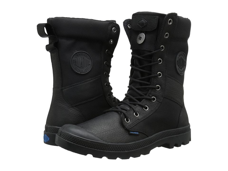 Palladium - Tactical WPN Zip (Black) Men's Boots