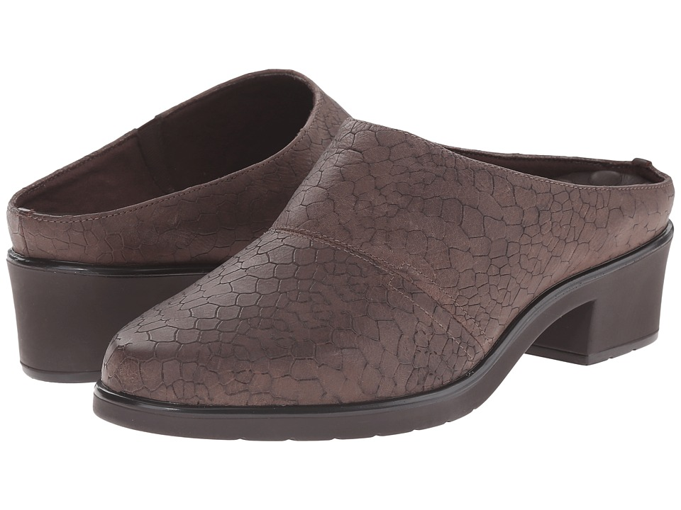 Walking Cradles - Caden (Brown Baby Matte Croc) Women's Clog Shoes