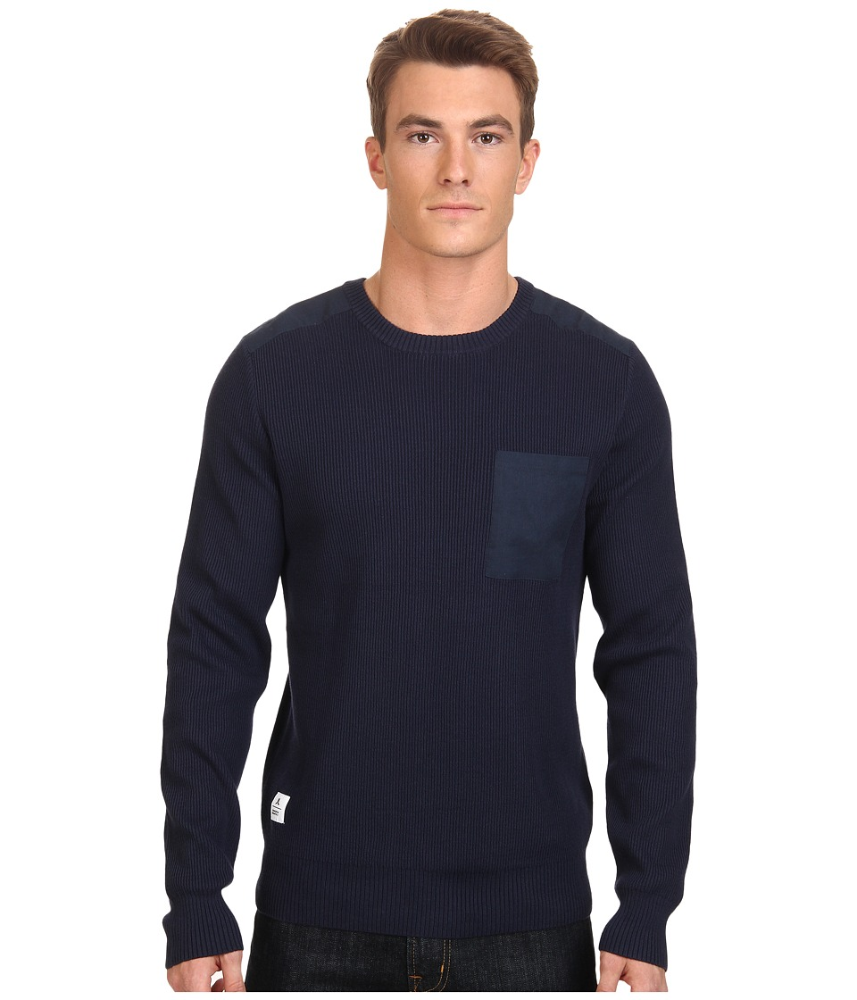 WeSC - Kayden Sweater (Blue Iris) Men's Sweater
