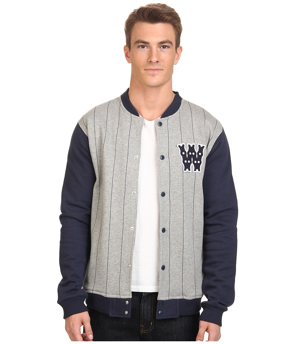 WeSC - Bikechain Jacket (Grey Melange) Men's Coat