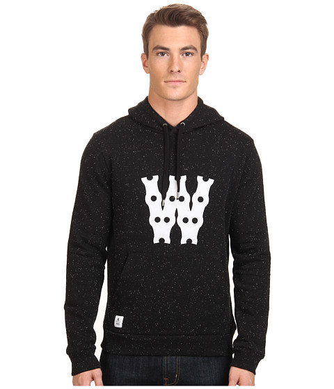 WeSC - Bikechain Hooded Sweatshirt (Black) Men