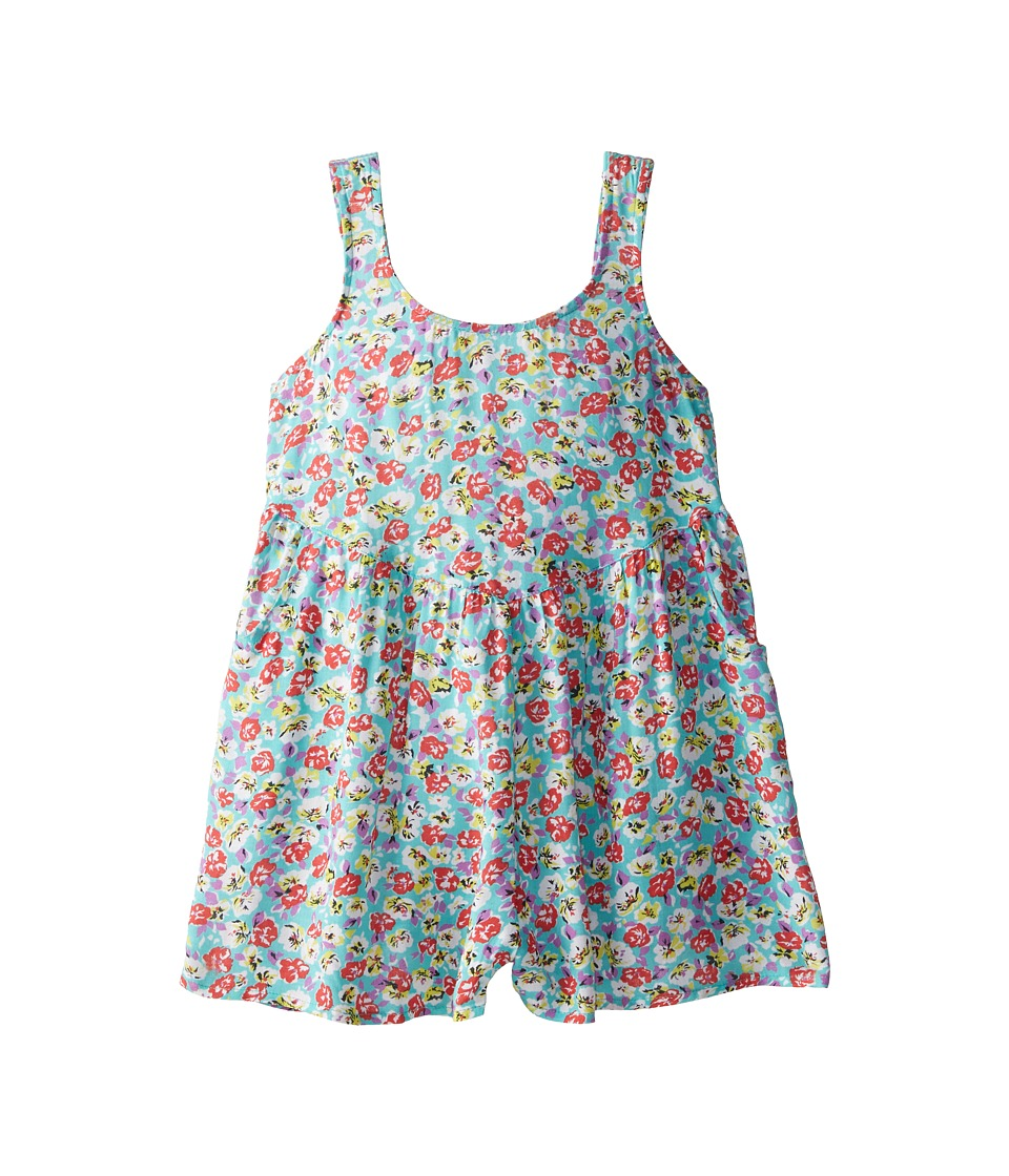 Billabong Kids - Beach Crush Romper (Little Kids/Big Kids) (Mo Mint) Girl
