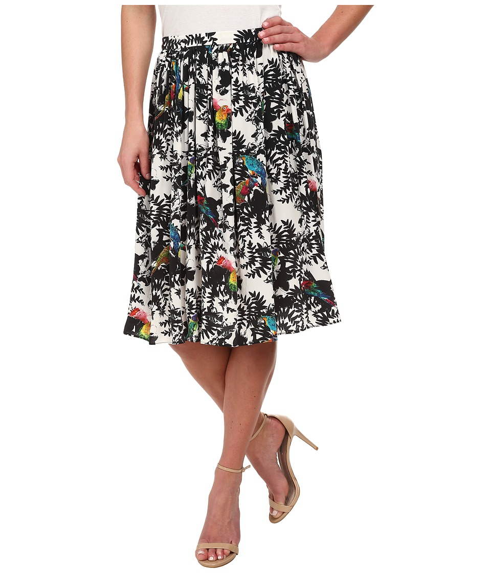 Nicole Miller - Birds Of Paradise Willie Skirt (Multi) Women's Skirt