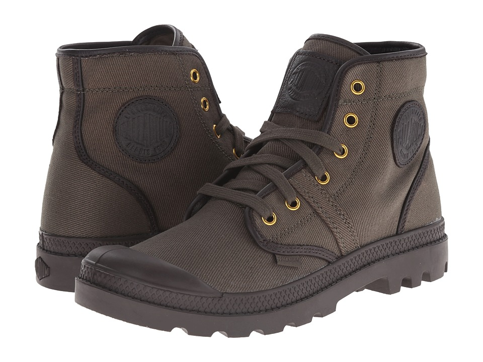 Palladium - Pallabrouse TW (Army Green/After Dark) Men's Boots