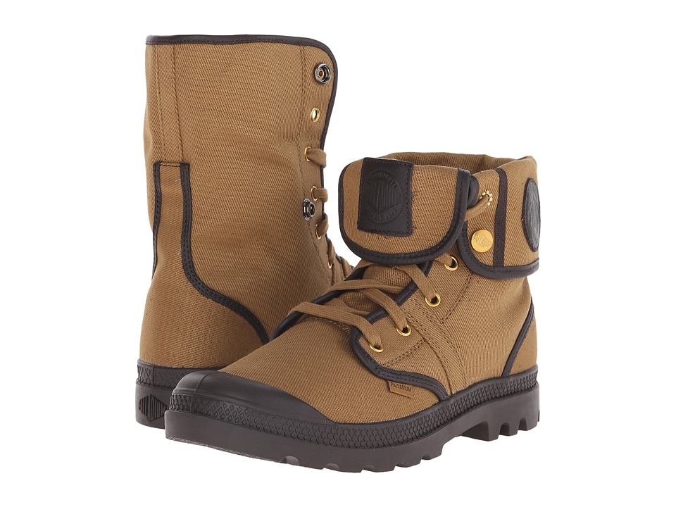 Palladium - Pallabrouse Baggy TW (Dull Gold/After Dark) Men's Boots